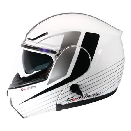 ZEUS ZS3000A GG12 白黑可輕易更換全罩與半罩內藏式遮陽鏡片