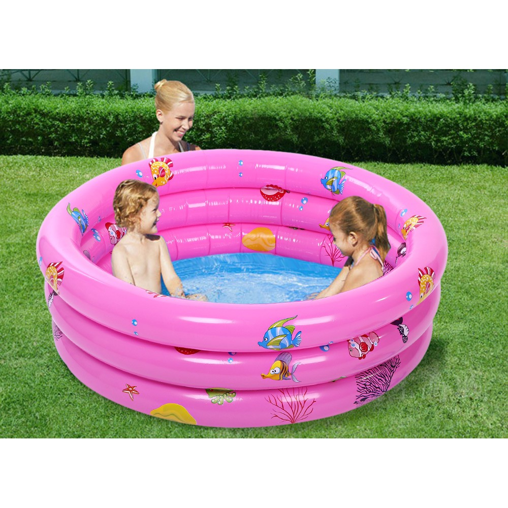 兒童充氣海洋球池寶寶釣魚池沙池圍欄玩具波波球池嬰兒游泳池加厚