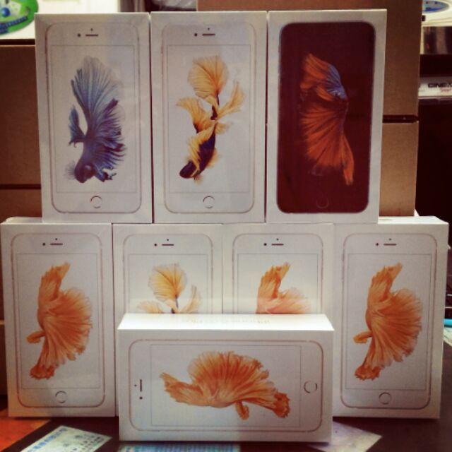 蘋果 iphone 6s 64g 灰銀玫瑰金金空機 貨