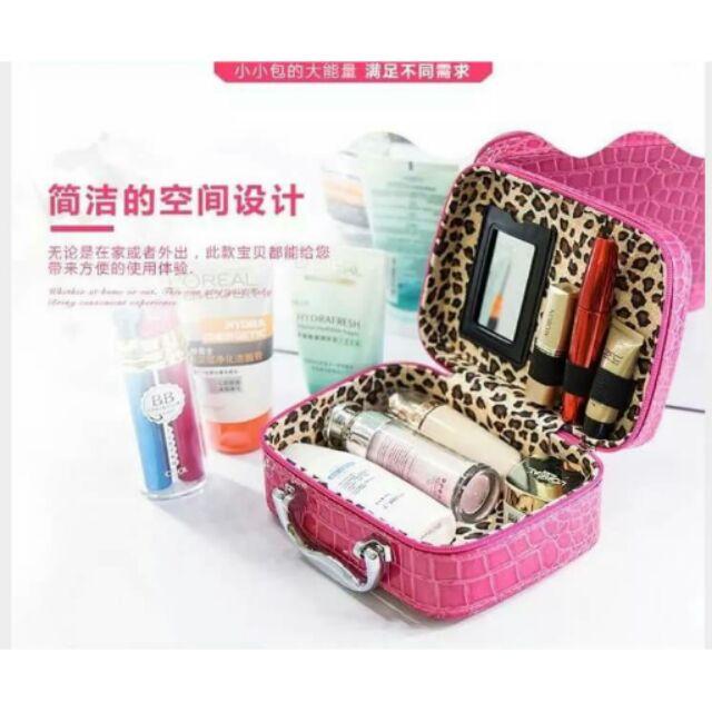 ️韓國小號手提化妝箱
