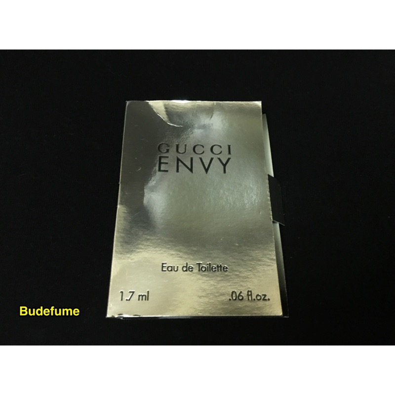 Gucci Envy for women 妒嫉女性淡香水 針管1 7ml