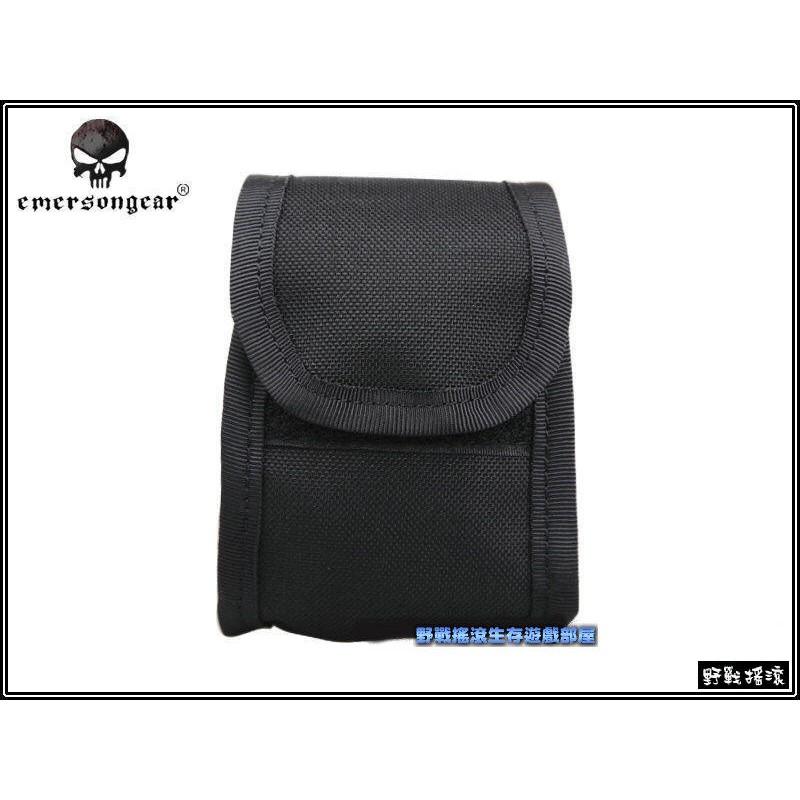 ~野戰搖滾生存遊戲~EMERSON 戰術背帶附件包、背帶包~黑色~可掛戰術背包戰術背心上