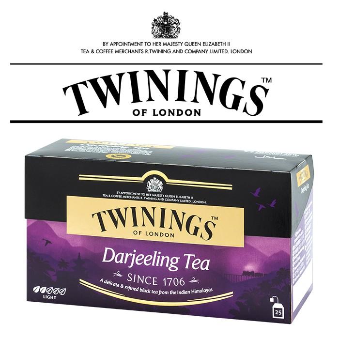 CoCoTea ~唐寧茶歐式大吉嶺伯爵茶包TWININGS Darjeeling Tea
