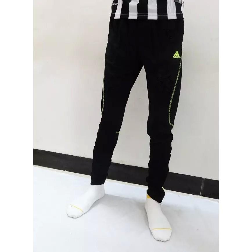 兩條足球褲訓練收小腿舞蹈騎行褲田徑健身褲子 長褲緊身褲足球褲訓練褲adidas 休閒褲巴塞
