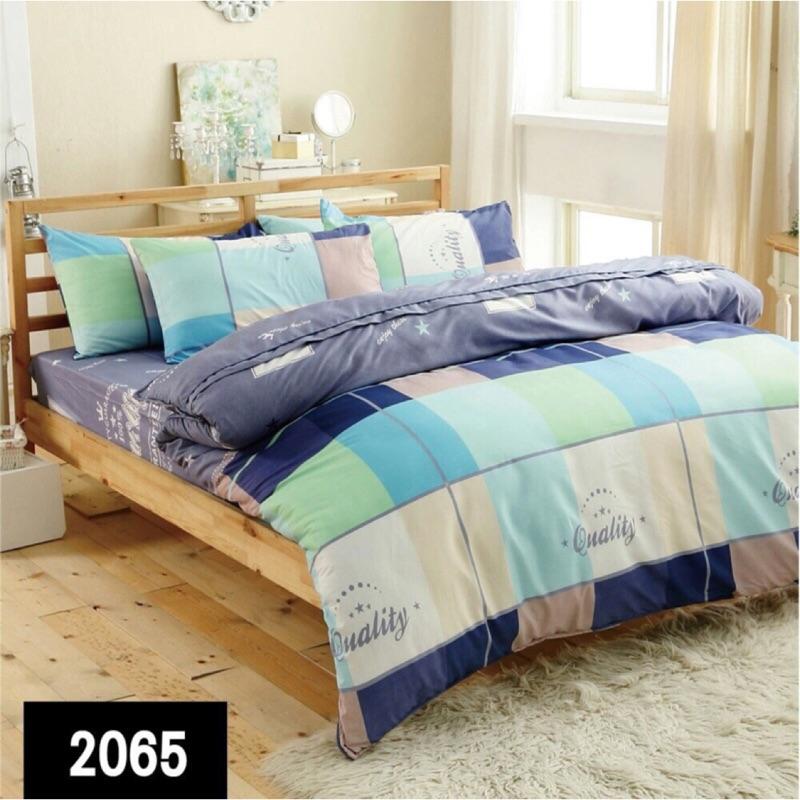 [來成寢具]舒柔棉天絲絨薄床包鋪棉床包枕套兩用被四件組雙人、加大、特大✅