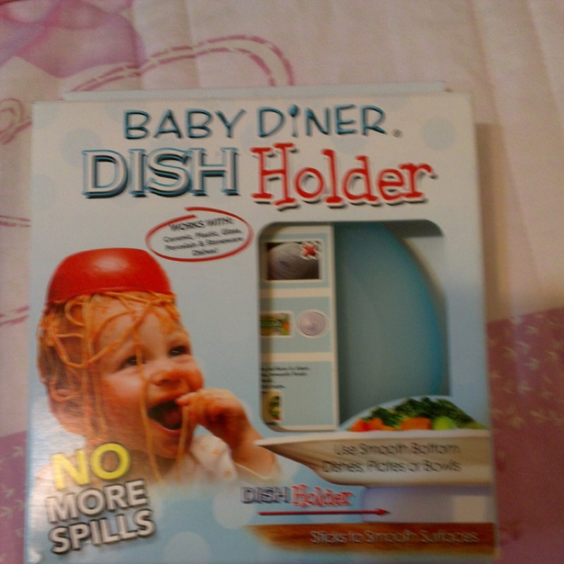 Baby Diner Dish Holder 美國嬰兒餐具強力吸盤架