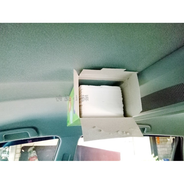 YP 逸品小舖簡易型磁吸式面紙盒強力磁鐵鐵片組吸頂面紙盒車頂面紙盒磁鐵面紙盒磁吸衛生紙盒