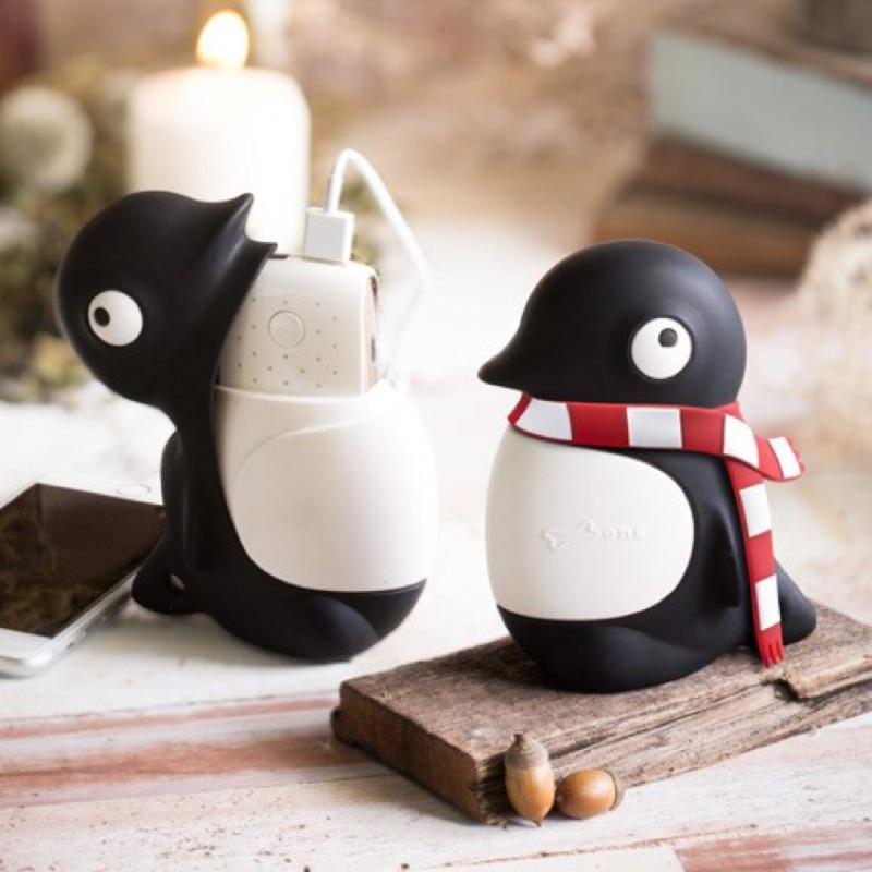 企鵝小丸公仔行動電源6000mAh