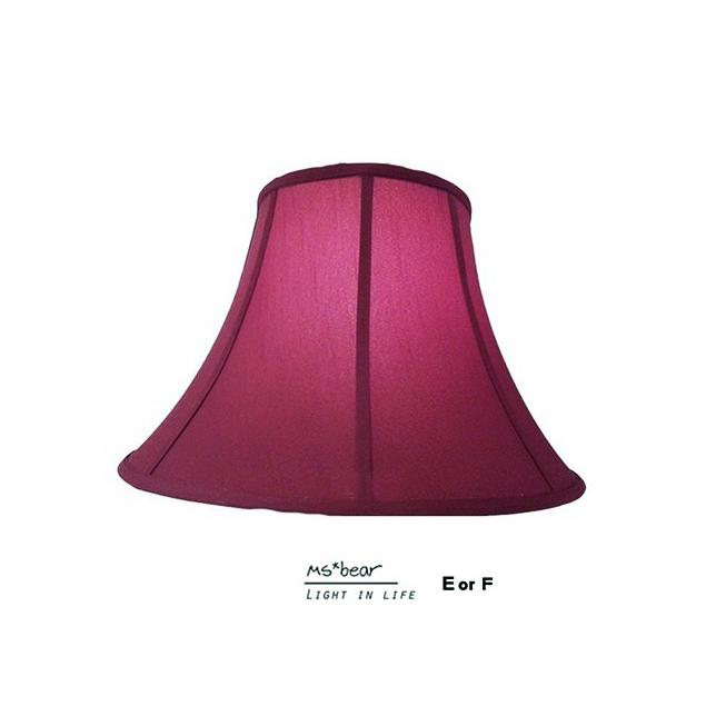 Ms bear 古典棗紅紅色純色大紅雙層燈罩檯燈台燈桌燈立燈燈罩燈具零件玻璃燈罩床頭桌燈床