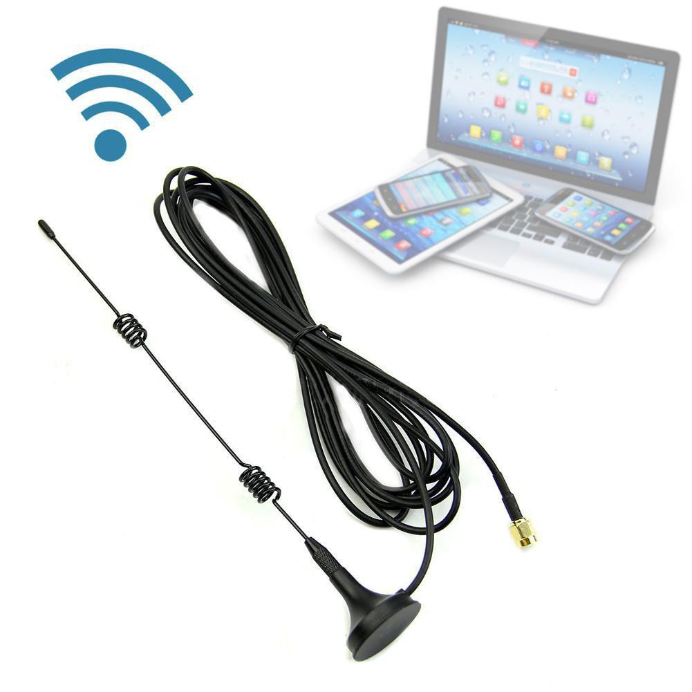 RP SMA7 DBI 無線wifi WLAN 信號增強天線5X 範圍擴展器T004