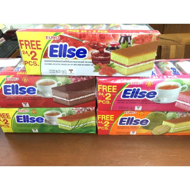 ✦Apple 國際食品✦~泰國Ellse 奶油蛋糕巧克力覆盆莓香蘭草莓菠蘿蜜口味香蕉(26