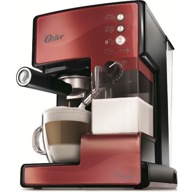 ◤贈 奶泡盒◢◤特A 級 品‧數量有限◢美國OSTER 奶泡大師義式咖啡機焰紅色BVSTE