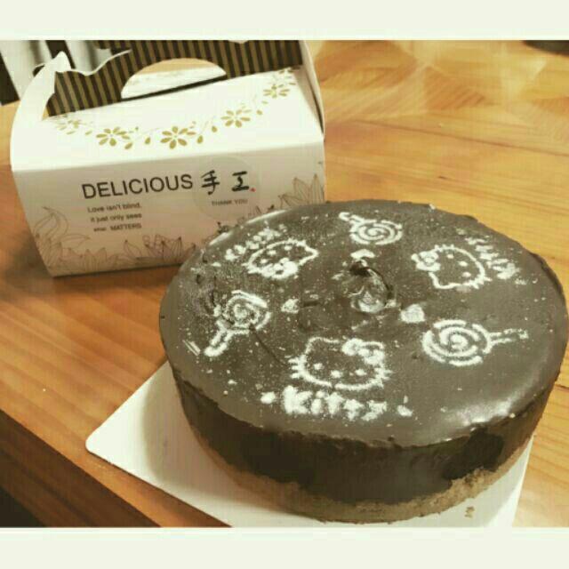 烘培!OREO 巧克力生乳酪蛋糕新鮮手作6 吋