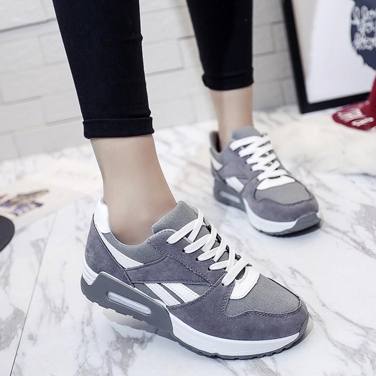 2017  潮流男鞋子 休閒鞋青少年阿甘跑步鞋學生平底潮鞋