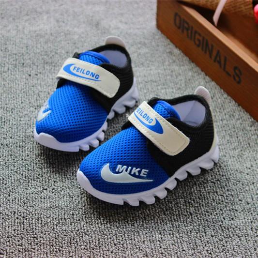 2016 春 男童鞋透氣 鞋童鞋 鞋女童小童兒童跑步鞋網布鞋