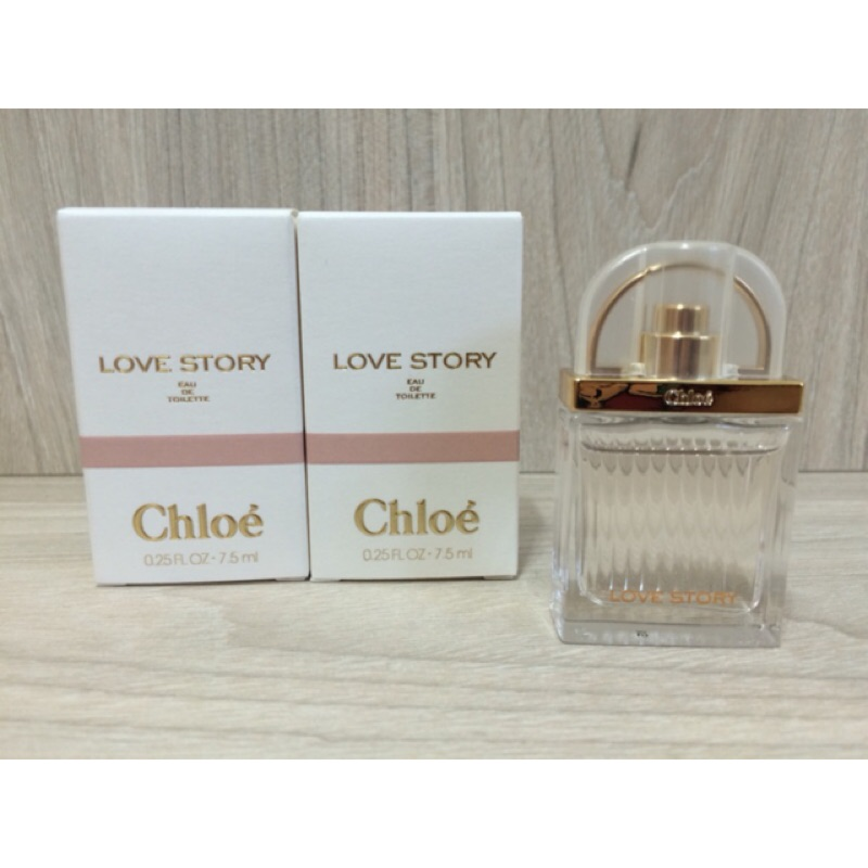 Chloe LOVE STORY 愛情故事晨曦女性淡香水7 5ML 小香水貿易商 貨