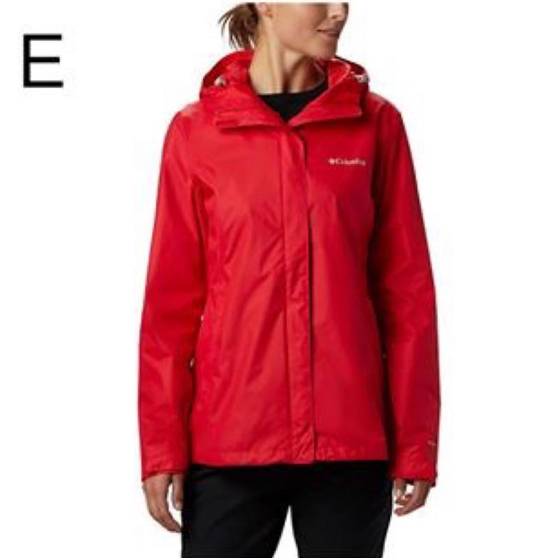 全新 正品 Columbia 哥倫比亞 Omni-Tech 女大人 防雨+防水+透氣+連帽 多功能外套