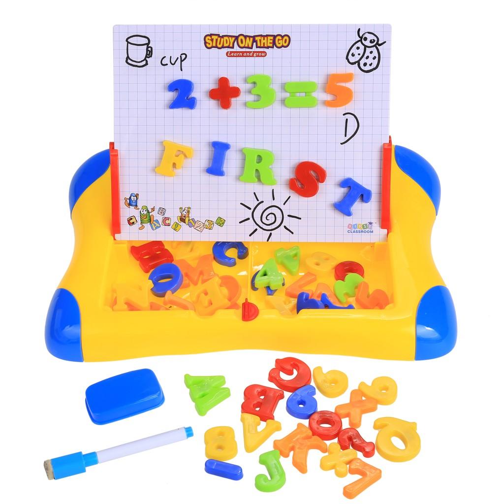 兒童雙面繪圖學習台多 學習畫板超大磁性畫板繪畫桌