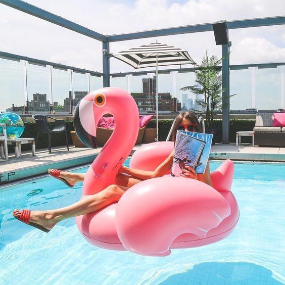 ~C Y ~150 公分超大尺寸粉紅天鵝火鶴火烈鳥水上泳池漂浮墊浮板浮床浮排浮墊游泳圈充氣