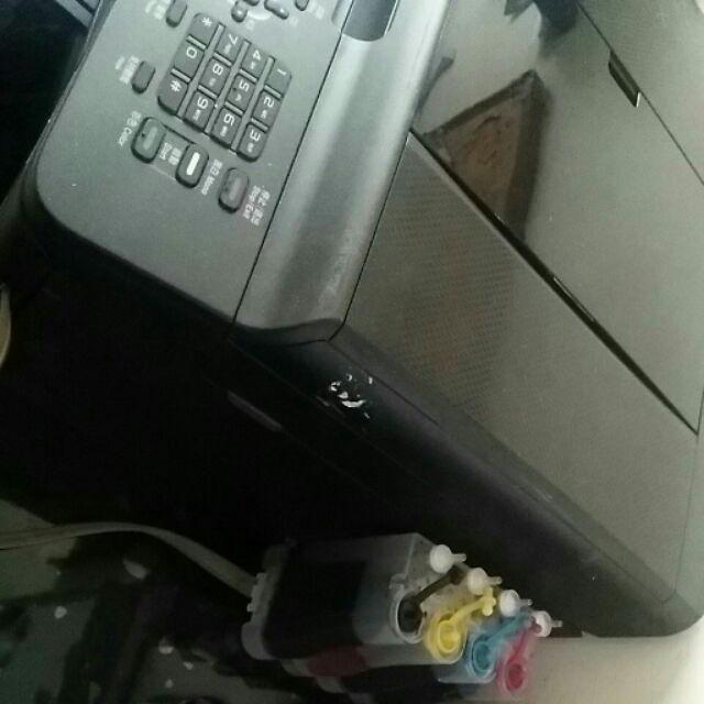 J430w 商務印表機~影印,列印,無線,掃描,傳真,多張複印,多張傳真,中古機以改裝連續