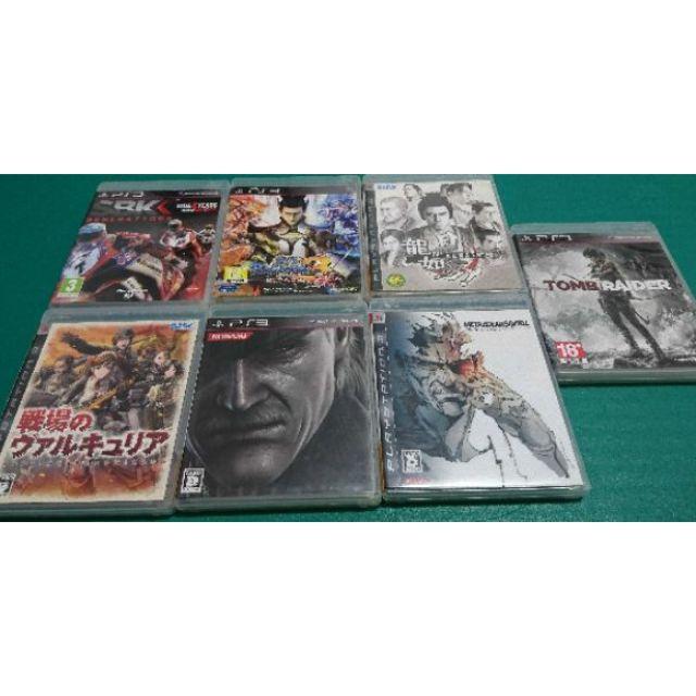 PS3 遊戲光碟(換機賠售割愛_ 用生命愛惜它_ 永留傳)