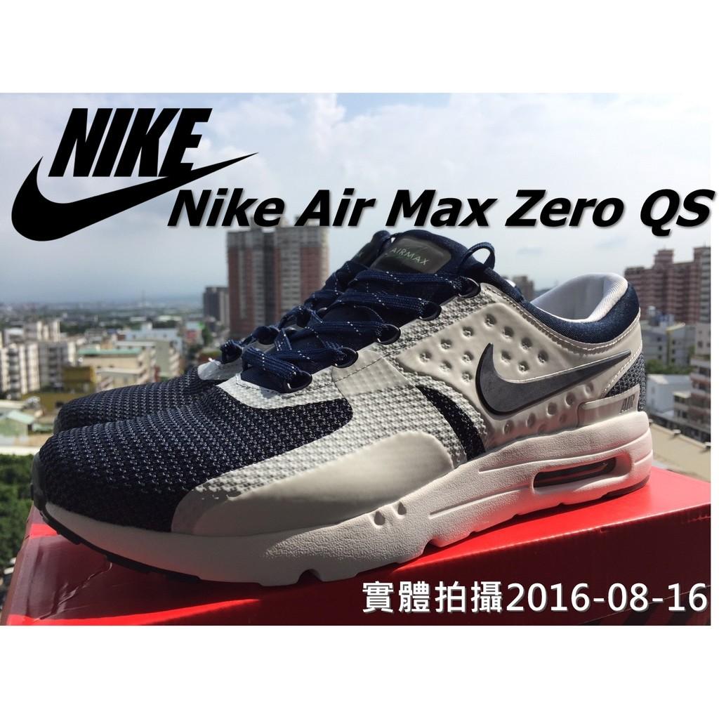 蝦皮最強 拍攝Nike Air Max ZERO QS 3M 26 週年白藍2015 26