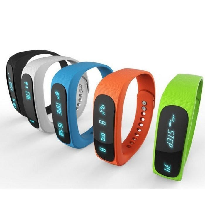 E02 智慧藍牙手環防水手錶安卓蘋果穿戴睡眠監測 健身遙控 NIKE Android Ap