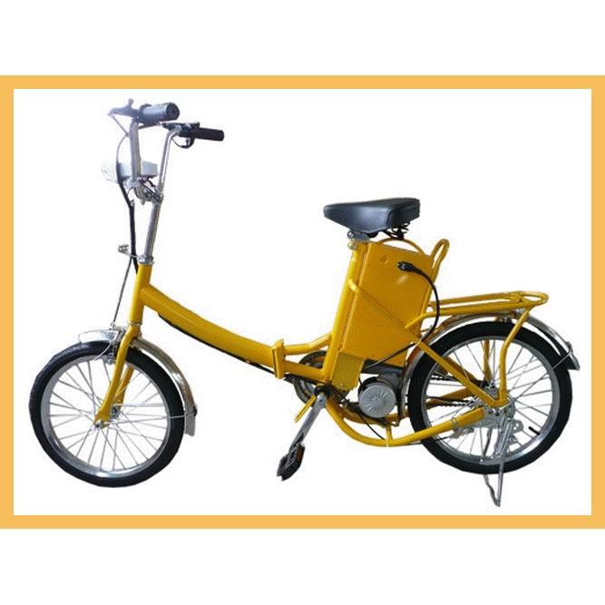 廠商直送 款折疊電動自行車16 寸輪胎腳踏車後座可載入