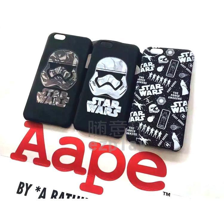 STAR WARS x Aape 聯名款星際大戰迷彩風暴騎兵iPhone 6 6S Plu