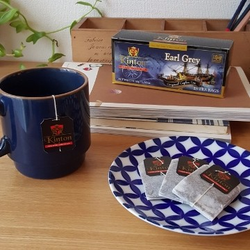 〘Kinton 〙伯爵紅茶Earl Grey 每盒25 入,茶,茶包