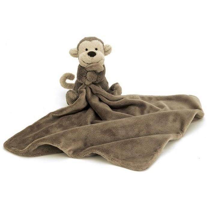 英國嬰幼兒第一品牌JELLYCAT 全品項 安撫巾-可愛小猴子Soother 新生兒彌月禮