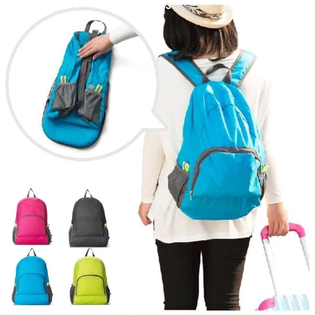 攻頂包戶外折疊旅行登山包防水 輕雙肩背包