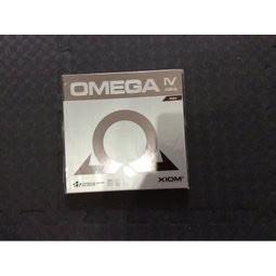 桌球孤鷹~桌球膠皮XlOM OMEGA lV 亞洲版紅色Max 新貨到