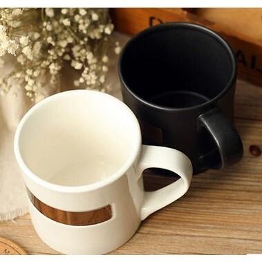 美國星巴克杯子starbucks 銅徽章不銹鋼馬克杯陶瓷杯 水杯