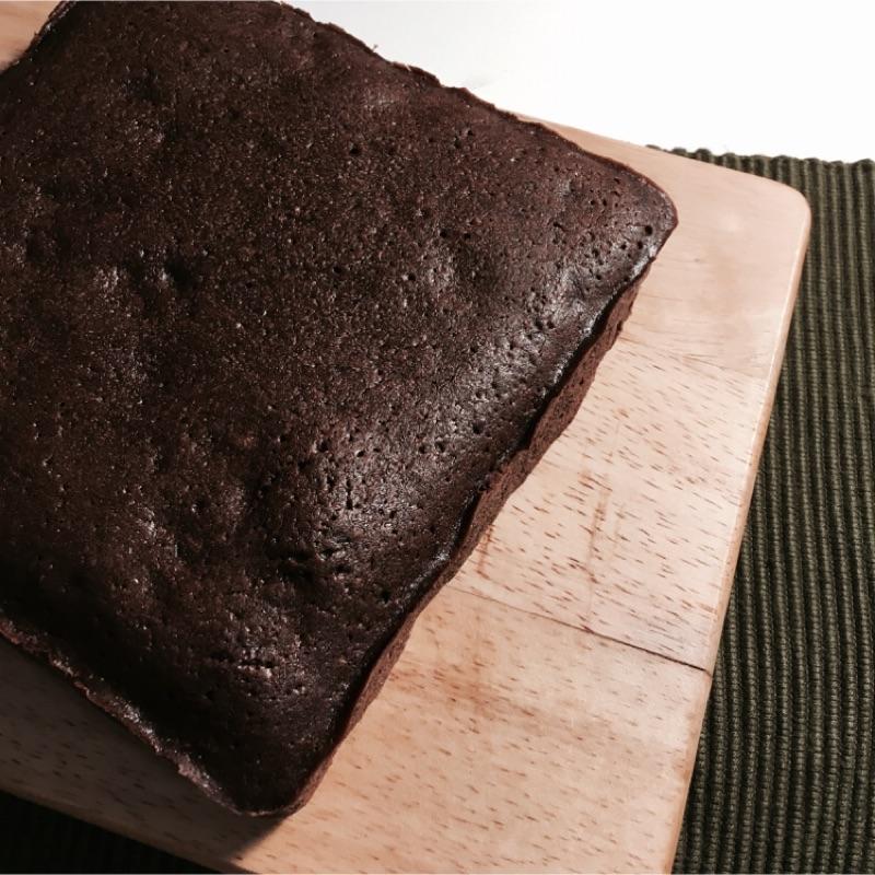 ~溫室甜點~濃厚香蕉巧克力布朗尼