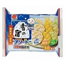 效期1017 2 ~三幸雪宿三味雪餅36 枚入沙拉抹茶卡士達~|愛子森林