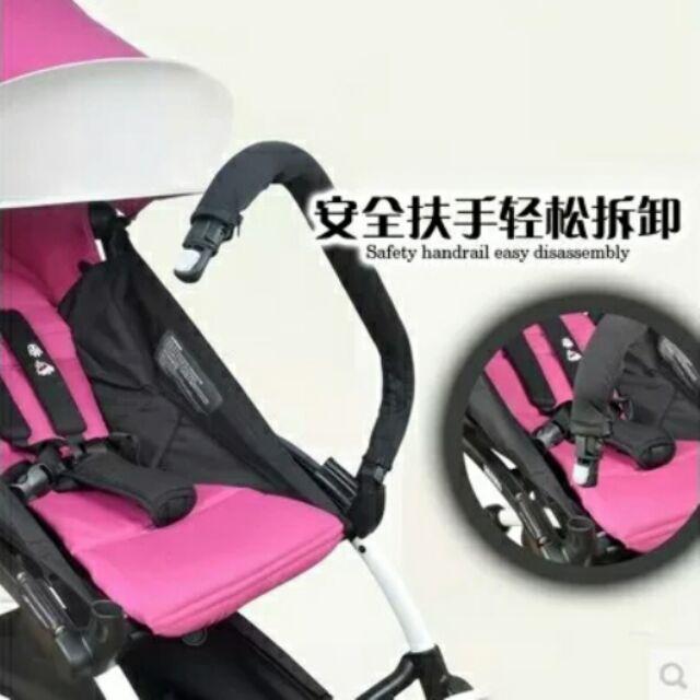 Babyzen yoyo 推車扶手,收車不用拆掉,yoya yuyu 同款車 送延長帶