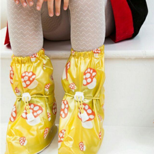 蓁幸福三款 防雨鞋套男女加厚底雨鞋 防水鞋套兒童防滑下雨天雨靴套