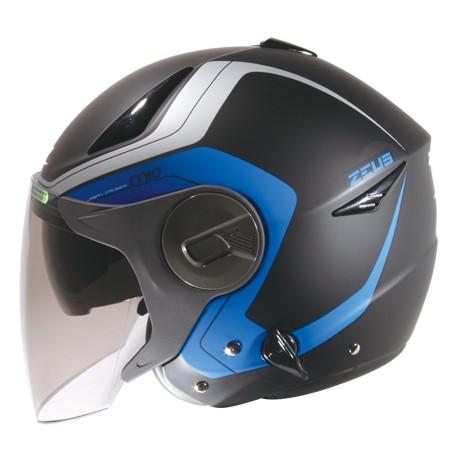 ㊕Perry Store ㊝ZEUS ZS 612A AD4 彩繪款消光藍黑雙層鏡片內藏墨