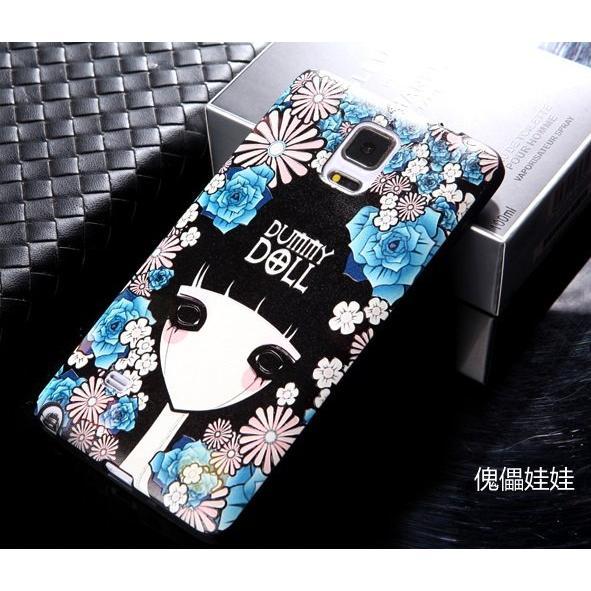 三星Samsung Galaxy Note4 手機殼傀儡娃娃Note 4 超高清3D 立體