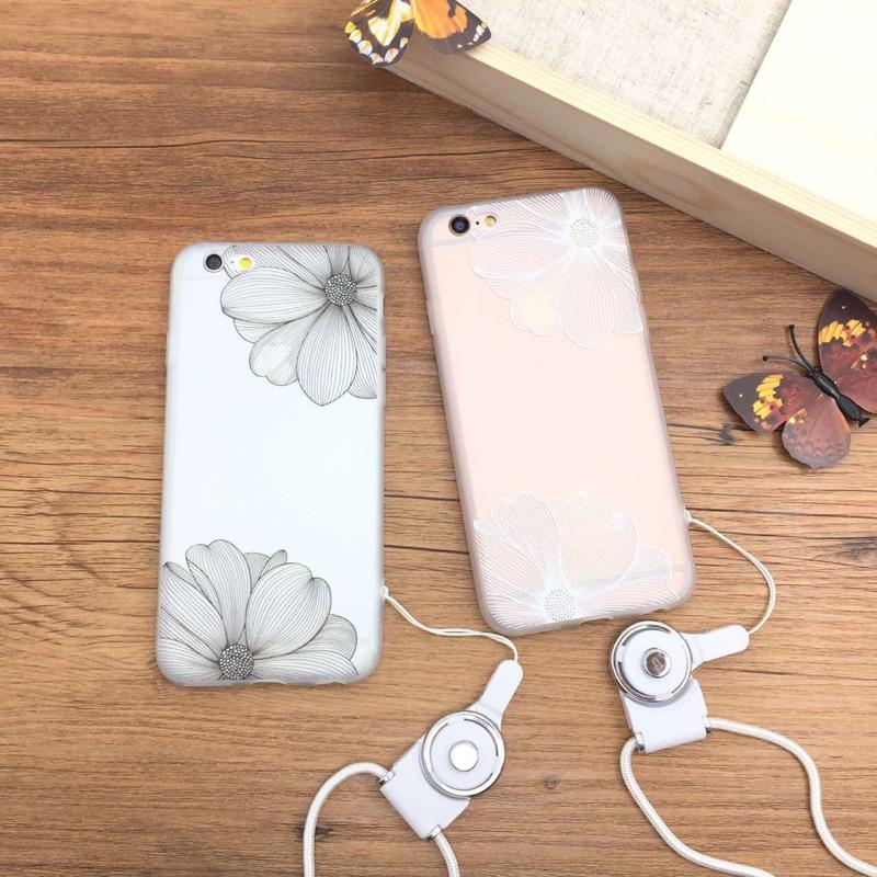 浮雕蕾絲花紋i7 i7plus 蘋果iphone6 6s 手機殼i6plus 全包硅膠軟殼