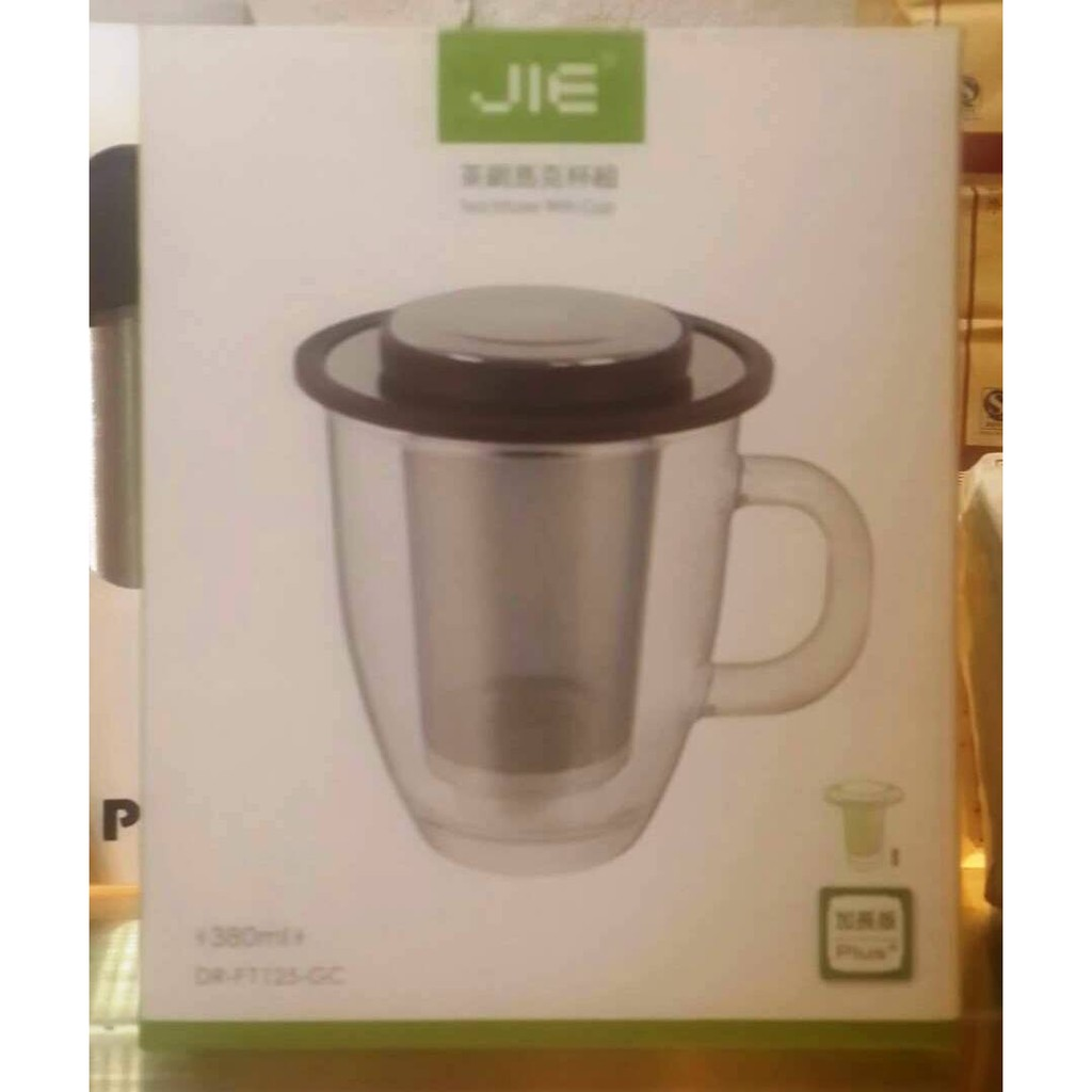 JIE 茶網馬克杯組茶網加長版
