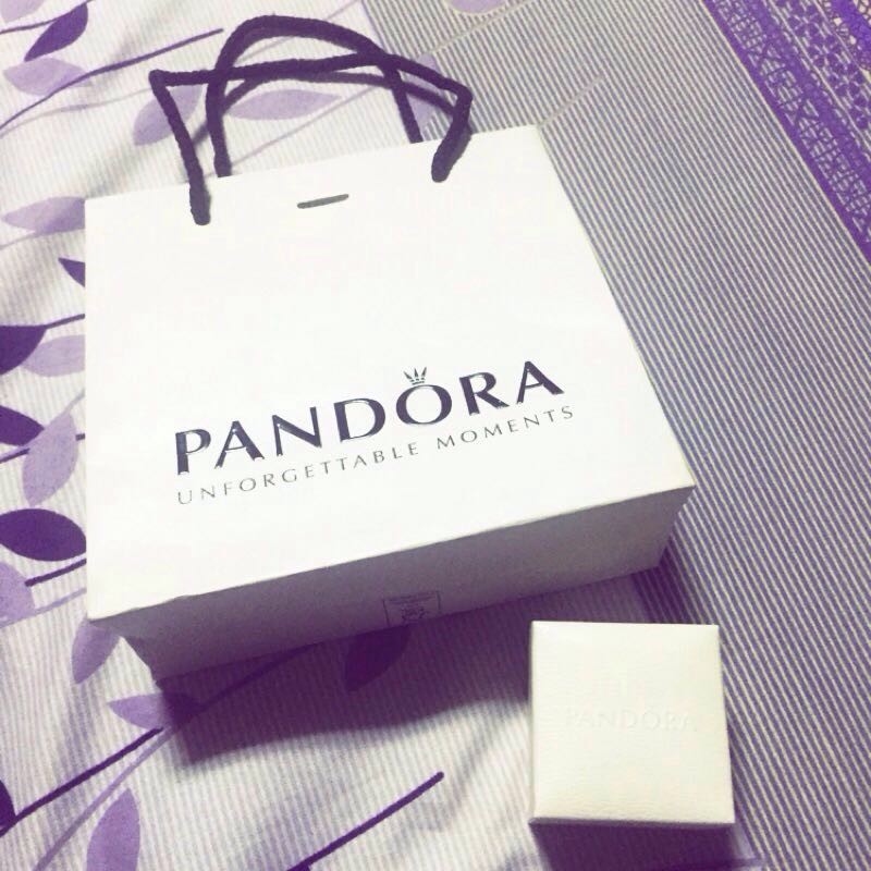 Pandora 套裝大盒子Pandora 絨布袋繩子