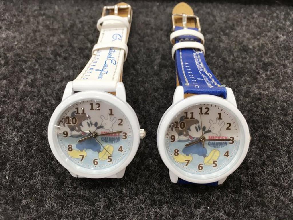 時間 迪士尼兒童錶Disney  米奇米妮兒童錶休閒錶