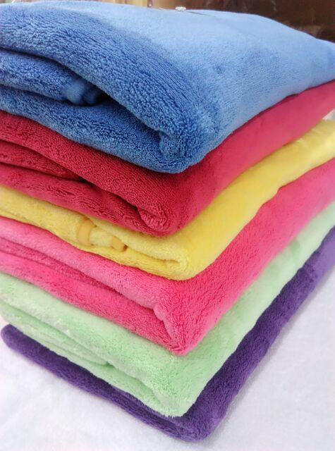 超強十倍吸水超細纖維抗菌大浴巾方巾包頭巾毛巾小方巾素浴巾吸水浴巾擦髮巾