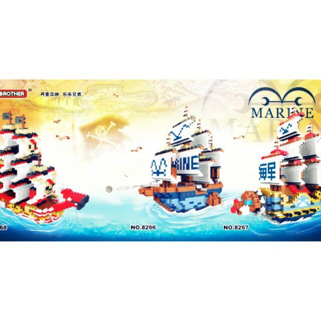 ~911 本舖~鑽石積木迷你積木積木 航海王海賊船150 元兒童玩具公仔模型樂高系列LEG