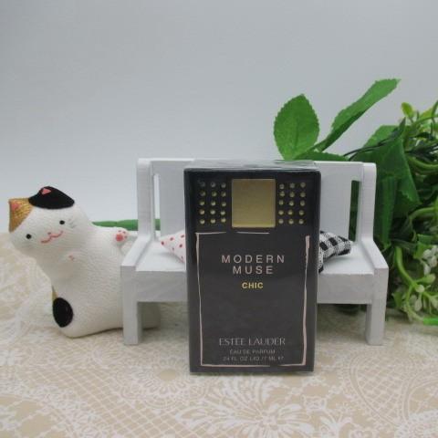 幸福部屋ESTEE LAUDER 雅詩蘭黛 MUSE 繆思香水黑色鉚釘版7ML 隨身瓶20