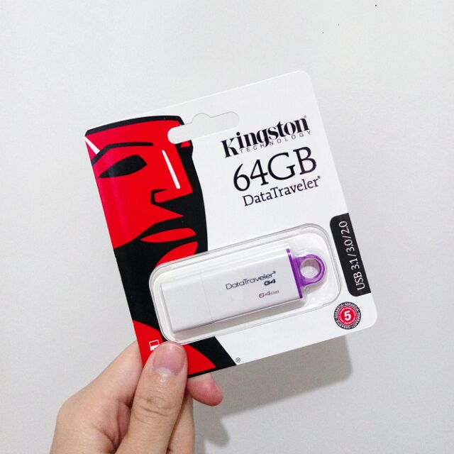 Kingston 金士頓 64g USB3.1 隨身碟
