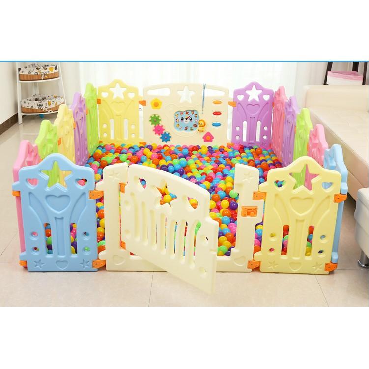 遊戲圍欄兒童嬰兒爬行護欄寶寶安全防護欄學步柵欄