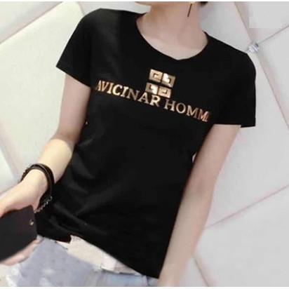 款 價韓國 寬鬆大碼顯瘦打底衫字母印花短袖T 恤~Trend Fitch